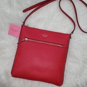 Kate Spade Large Shirley Leather Crossbody Bag